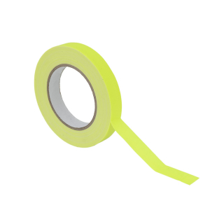 ACCESSORY Gaffa Tape 19mm x 25m neongelb UV-aktiv