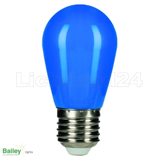 E27 - 6er Party-Mix Illu LED Lampe (ST45) 1W in 5 Farben + weiss