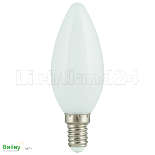 E14 - Party Illu LED Kerze Lampe (C35) 1W WARMWEISS 2800K
