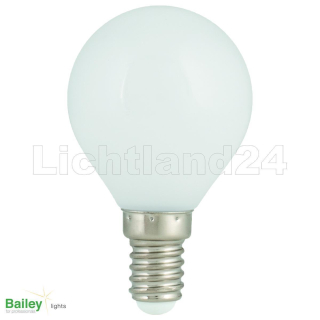 E14 - Party Illu LED Tropfen Lampe (G45) 1W WEISS 2800K