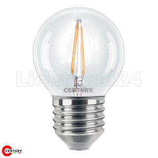 E27 LED Filament Tropfen - INCANTO - G45 - 2W (= 25W) 2700K