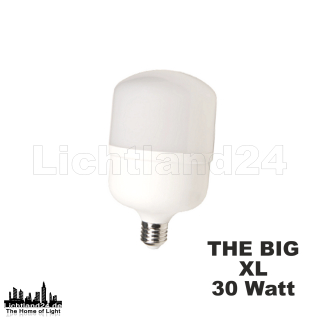 BIG XL30 - E27 COB LED Lampe - 30W (> 250W) 4000K extrem...